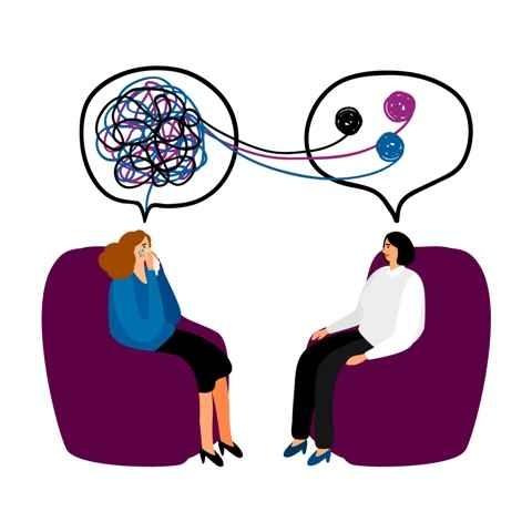 مشاوره توسط یک روانشناس خبره برای دور ریختن افکار منفی از ذهن و افزایش امید در زندگی